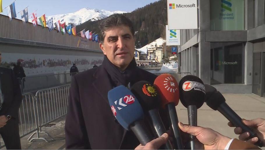 نێچیرڤان بارزانی: دانانی ئاڵای كوردستان لە دیداری ترامپ پەیامێك بووە بۆ هەموو كوردێك