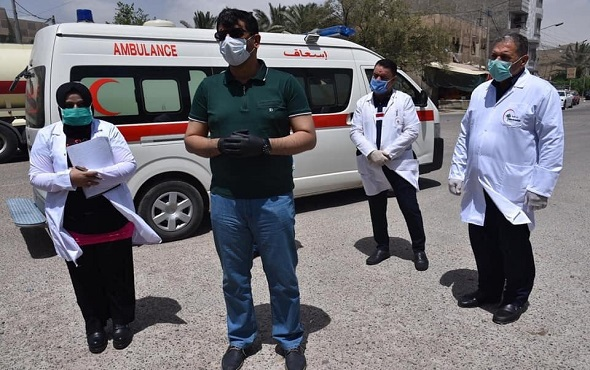 تسجيل 95 اصابة جديدة بفايروس كورنا في العراق