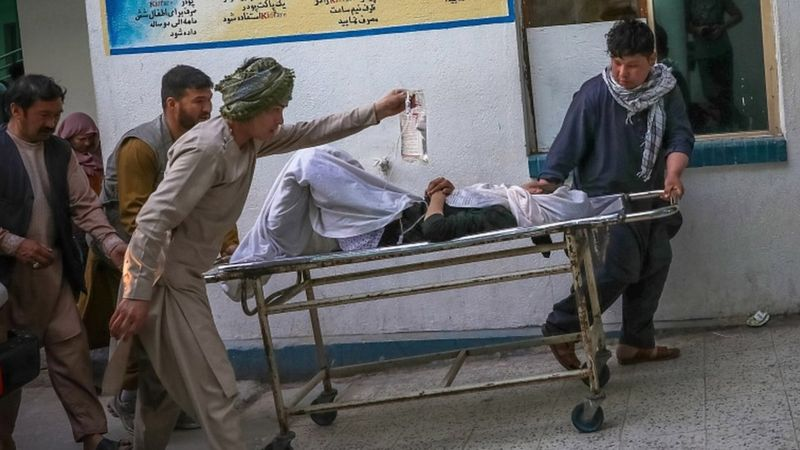 ئهفغانستان.. تهقینهوه دهیان كوژراو و برینداری لێكهوتهوه