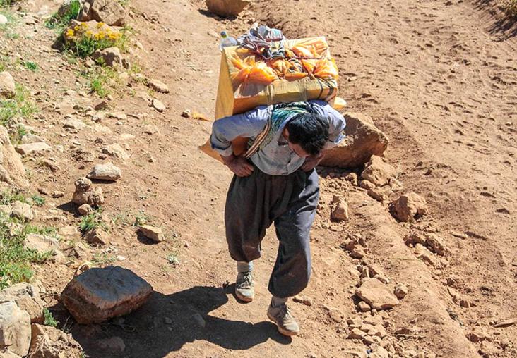رۆژهەڵاتی كوردستان.. مانگی رابردوو 40 كۆڵبەر بوونە قوربانی