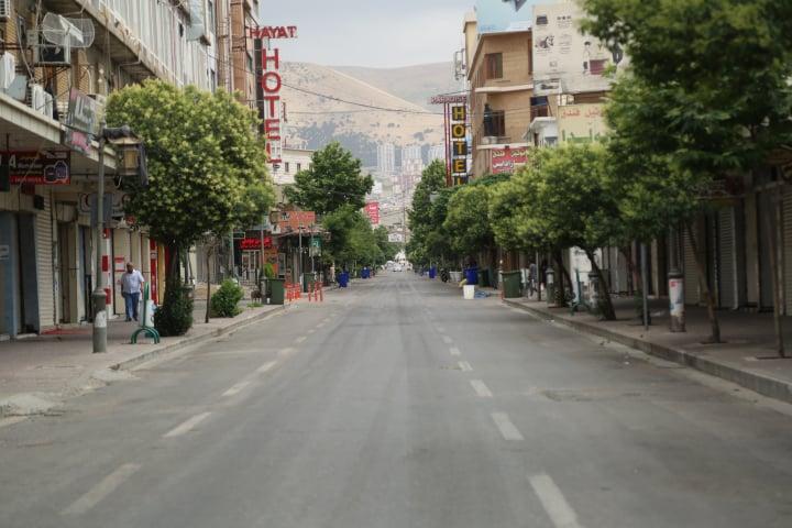 بە فەرمی قەدەغەی هاتوچۆ لە هەرێمی كوردستان راگەیەندرا