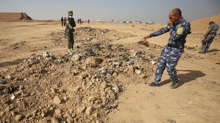 گۆڕێكی بەكۆمەڵی قوربانیانی دەستی داعش لە كەركوك دۆزرایەوە
