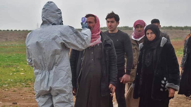 رۆژئاوای كوردستان.. لە دوو رۆژدا 113 توشبوی كۆرۆنا تۆماركرا